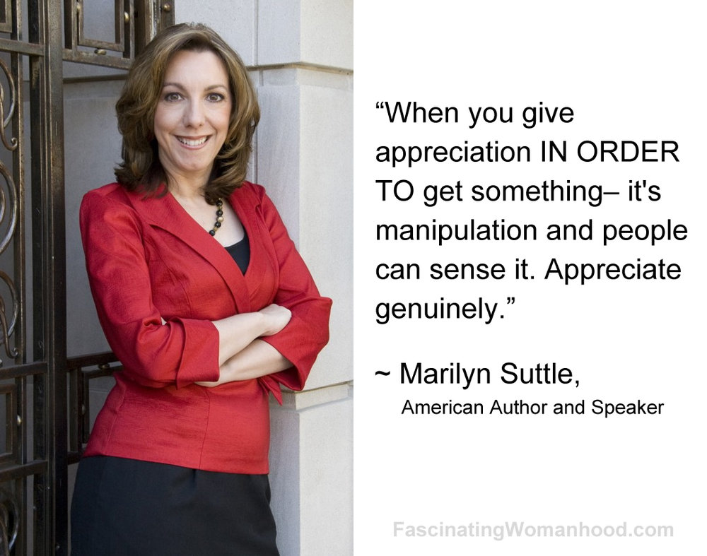 A Quote by Marilyn Suttle.jpg