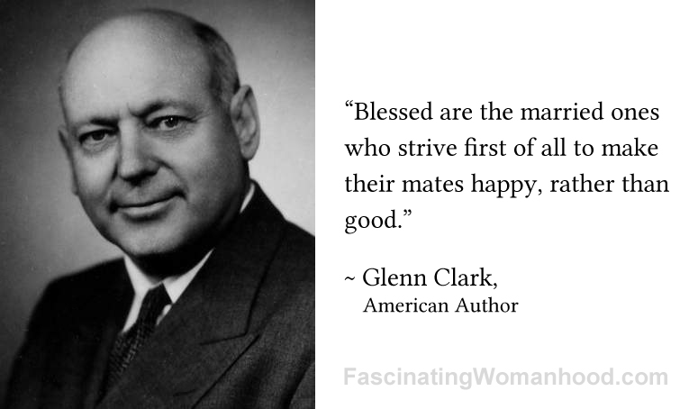 A Quote by Glenn Clark.jpg
