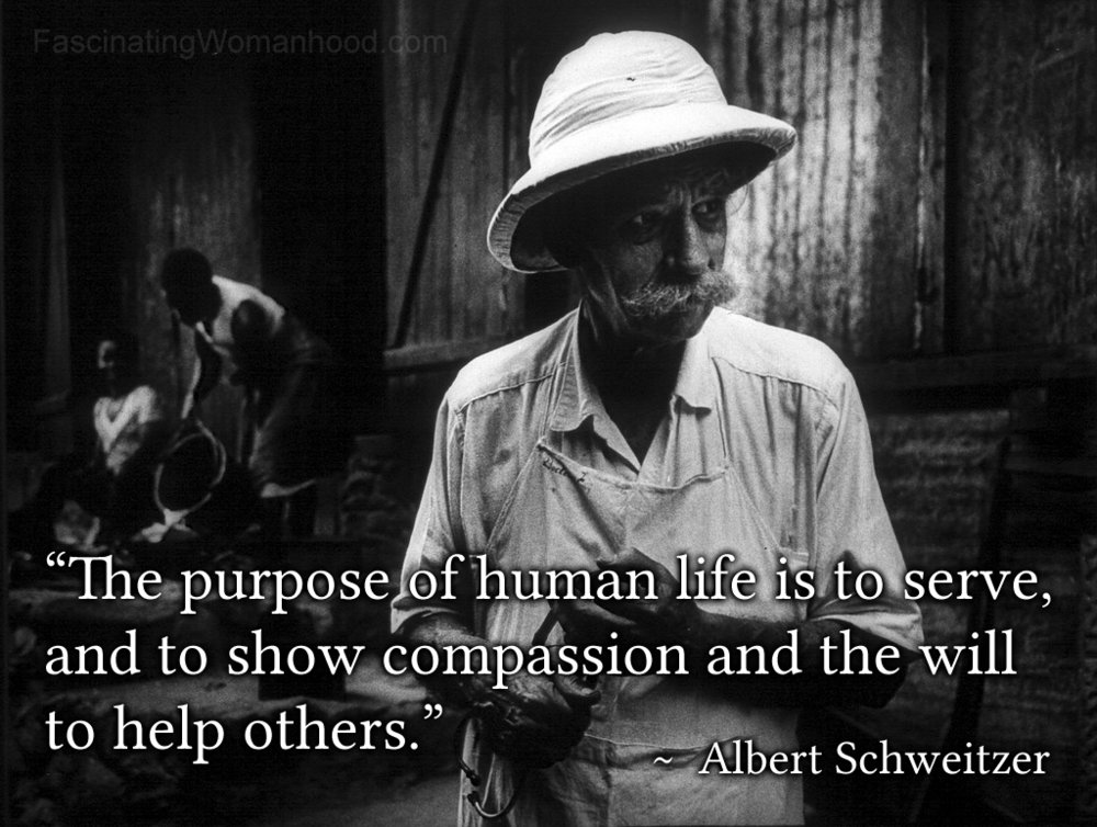 A Quote by Albert Schweitzer.jpg