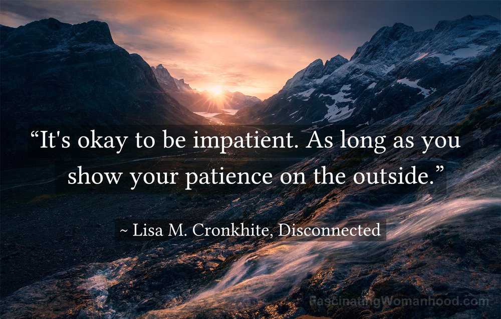 A Quote by Lisa Cronkhite.jpg