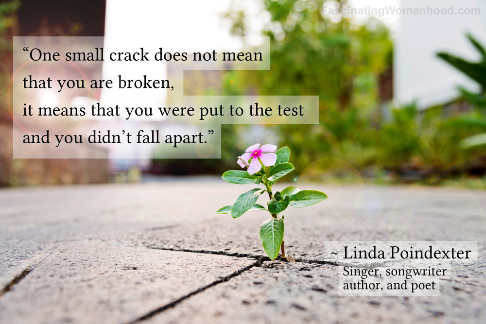 A Quote by Linda Poindexter.jpg