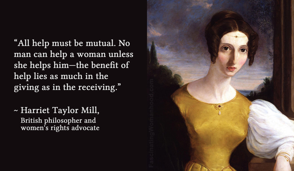 A Quote by Harriet Taylor Mill.jpg