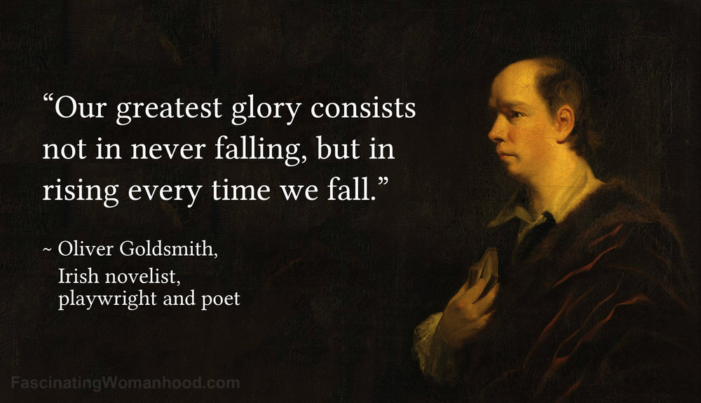 A Quote by Oliver Goldsmith.jpg