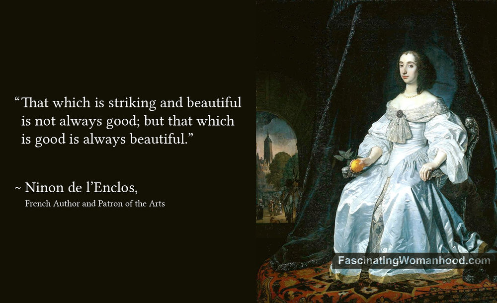 A Quote by Ninon de lenclos.jpg