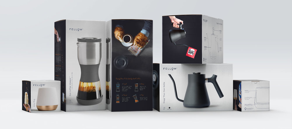 Fellow Branding | Industrial Design | Packaging Design