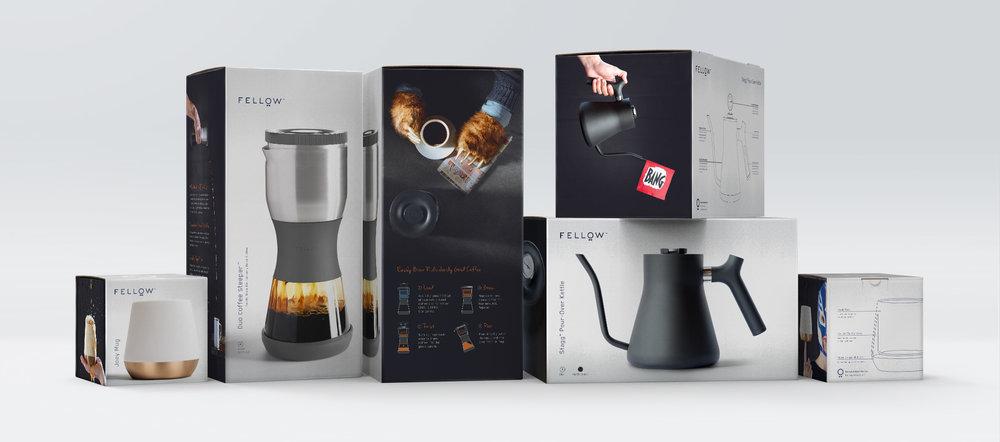Fellow Branding | Industrial Design | Packaging Design