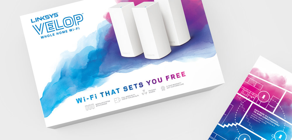 Linksys Velop Branding | Packaging Design