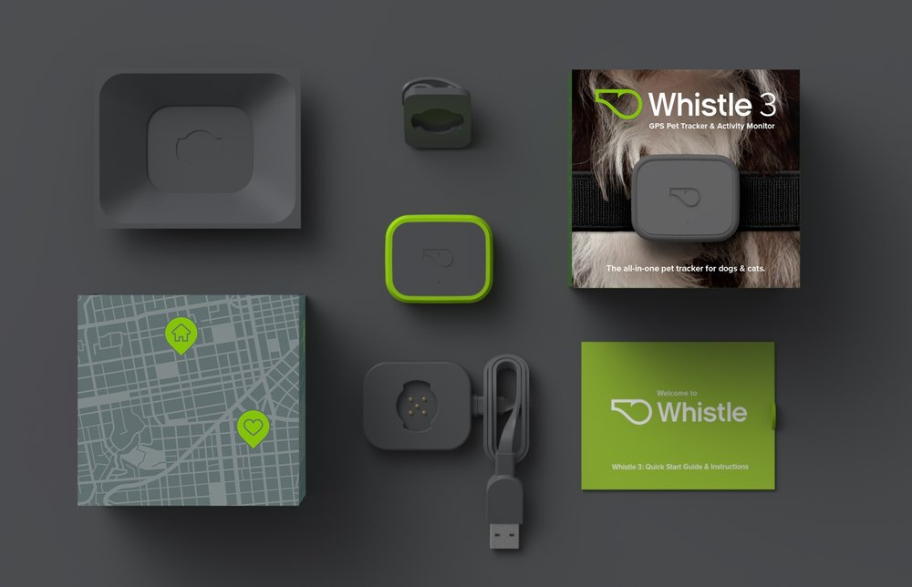 Whistle 3 Industrial Design | Packaging Design