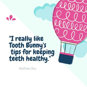 Feedback about Tooth Bunny from Matthew