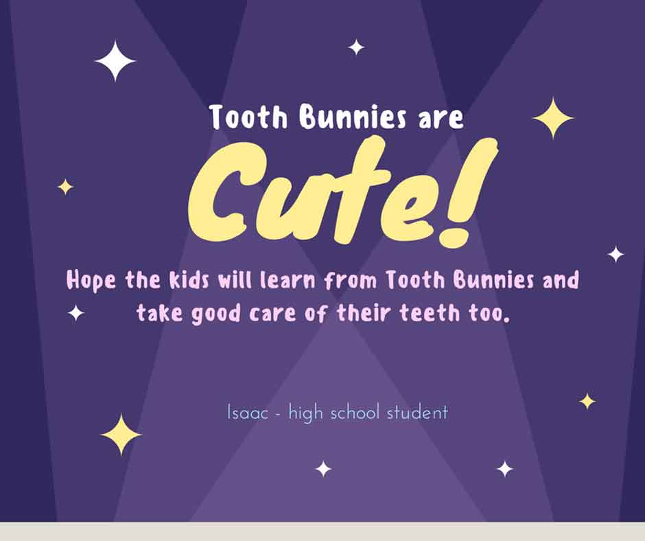 Tooth Bunny feedback from Isaac