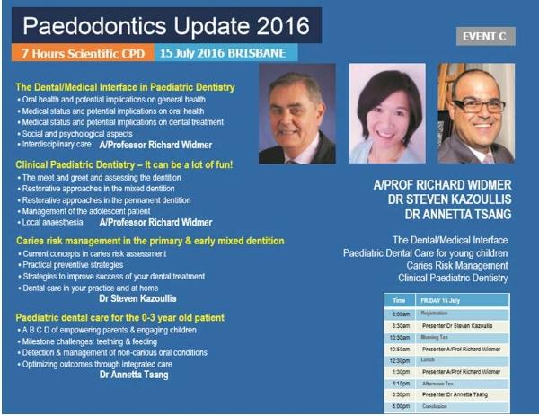 Paedodontic Update 2016_Annetta Tsang