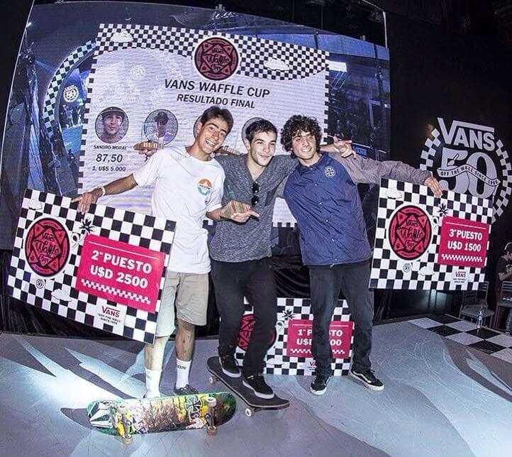Sandro Moral, ganador del Vans Waffle Cup 2016