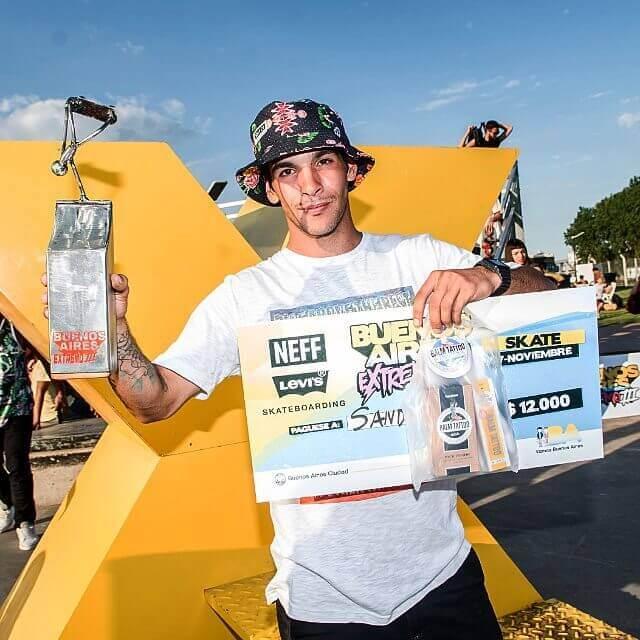 Sandro Moral ganó en la última edición del Buenos Aires Extreme