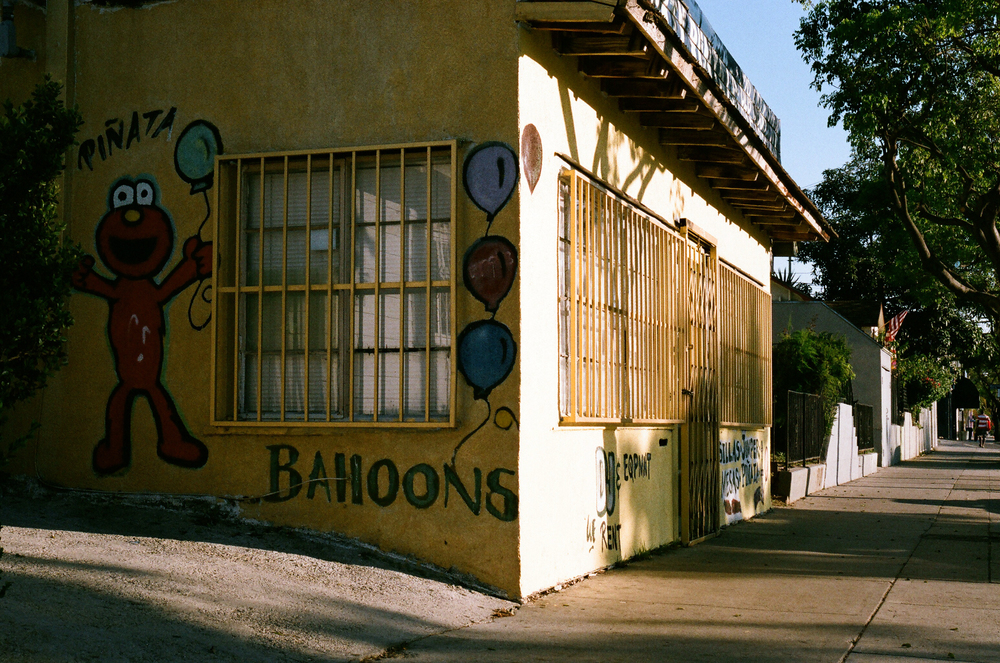 Virgil Village, Los Angeles. My quickly gentrifying neighborhood. 35mm.