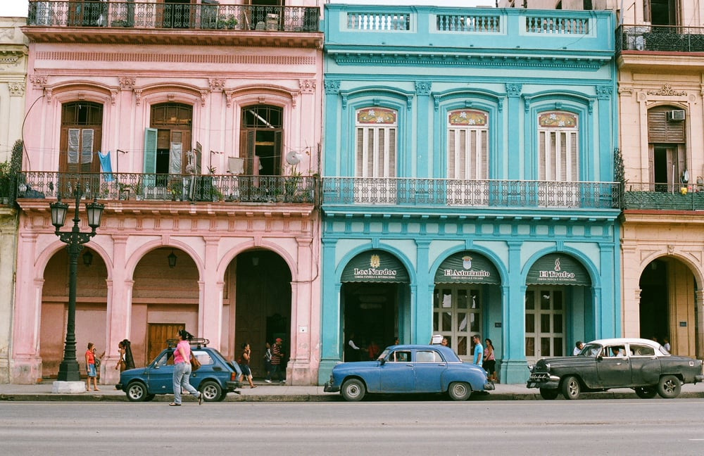 Click here for 35mm photography of Old Havana, Cuba