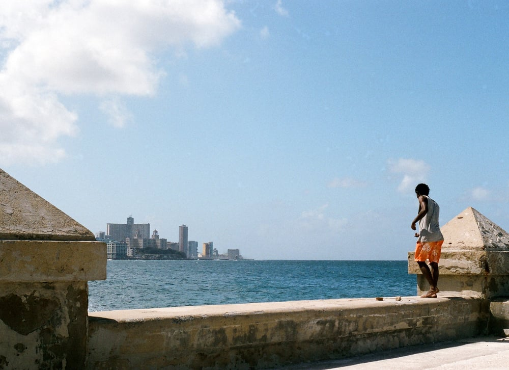 Click here for 35mm photography of the Malecon in Havana, Cuba
