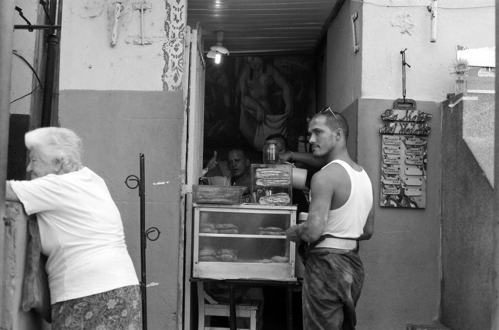 Sandwich shop.