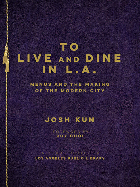 "I was part of the research team for the project and book, ""To Live and Dine in L.A."" by Josh Kun in collaboration with the Los Angeles Public Library."