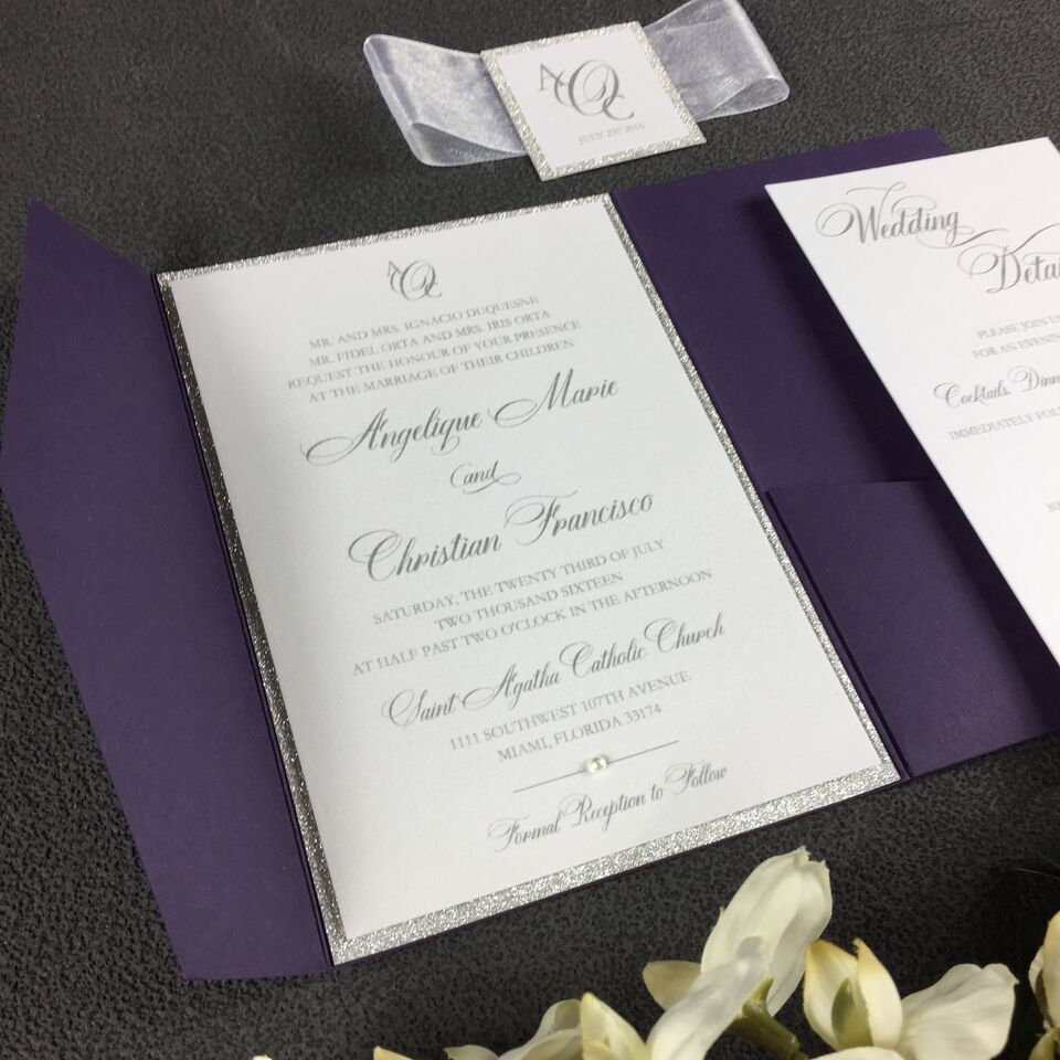 WEDDING INVITATIONS — LOVE PAPER CREATIONS