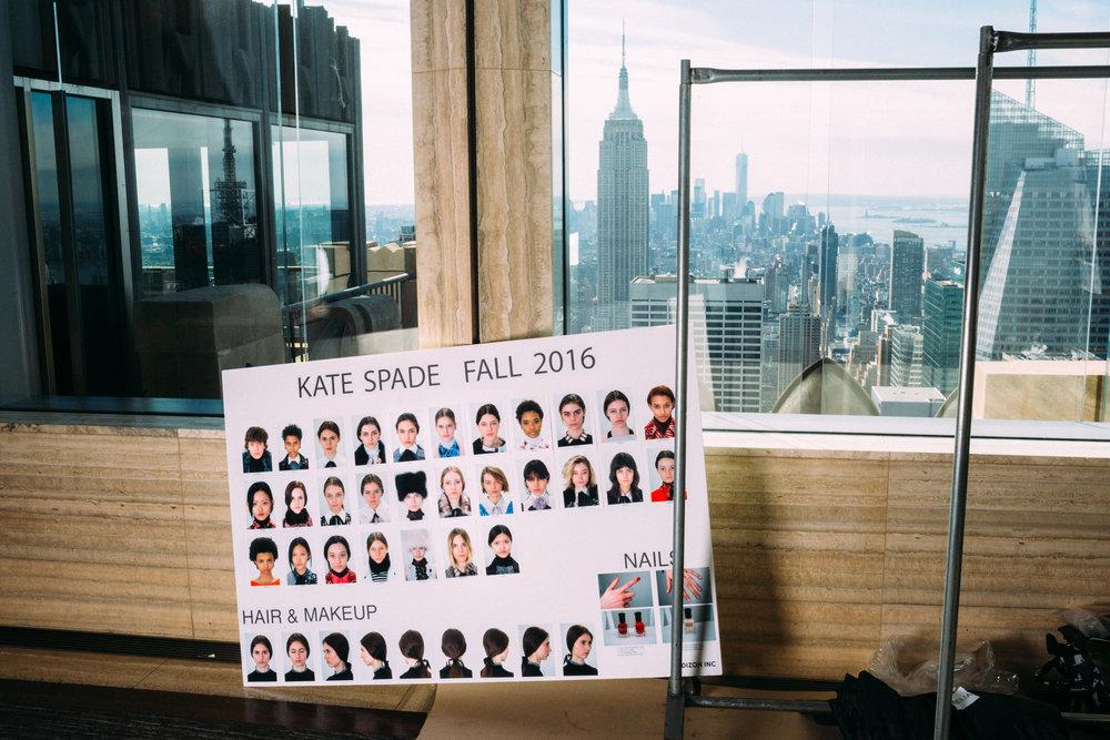 Kate Spade's NYFW presentation