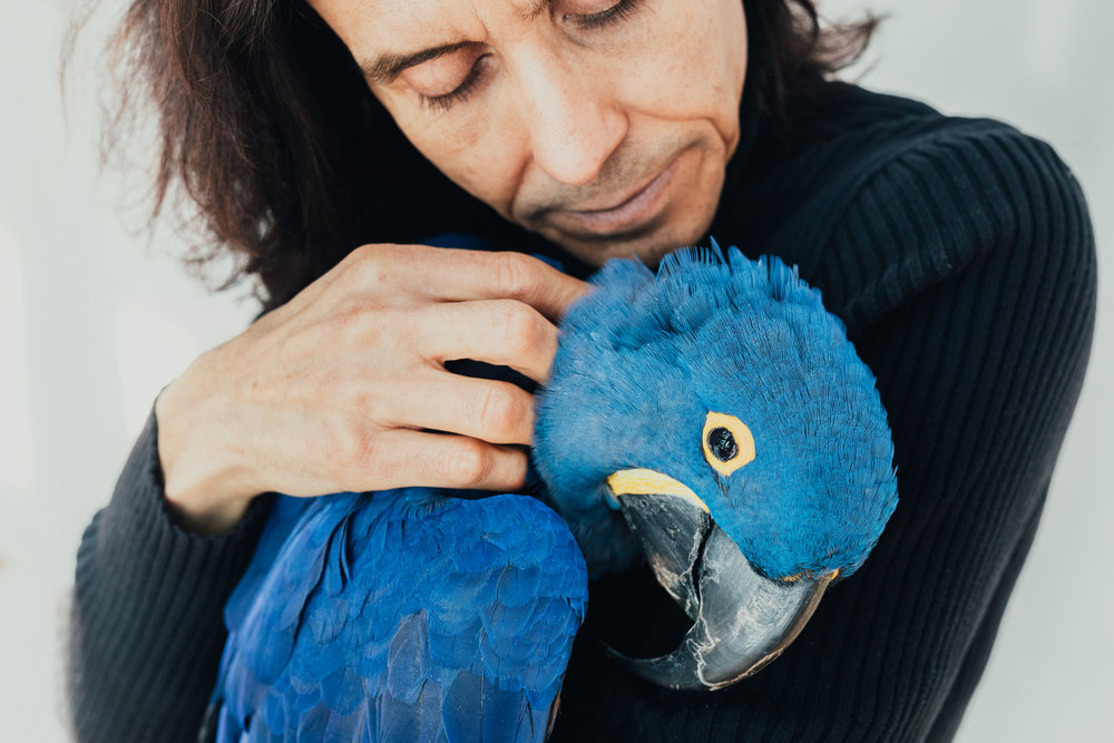 The Parrot Whisperer for The New York Times