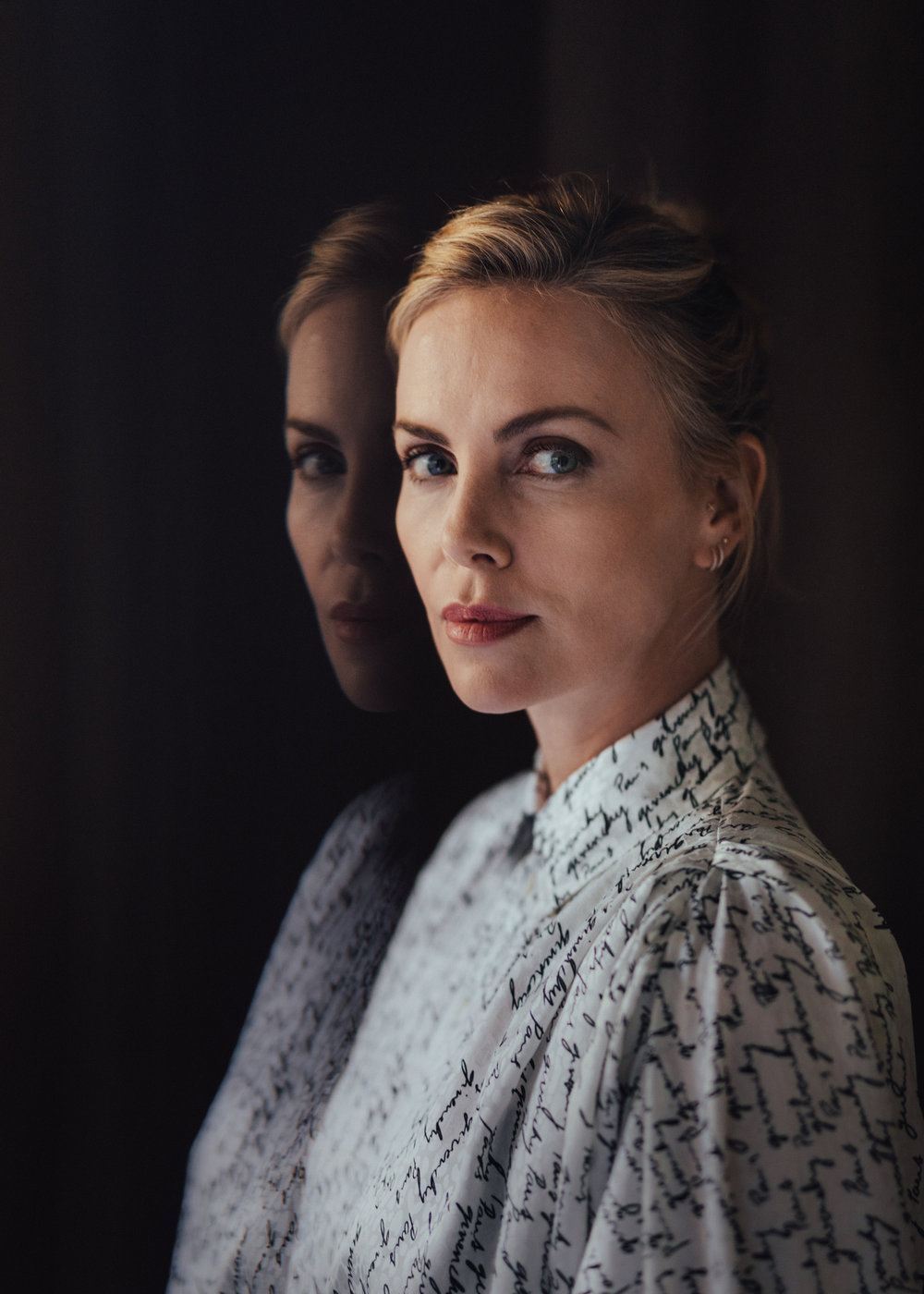 Charlize Theron for The New York Times