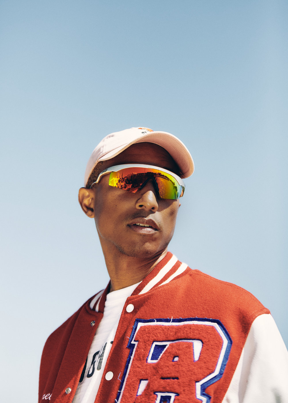 Pharrell's Something in the Water photographed for GQ