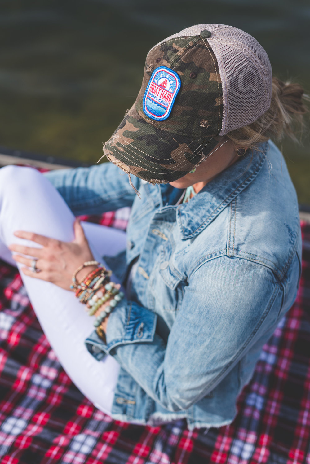 hat  here  // Jacket  here  // denim  here  or  here  // tank  here  or here // shoes  here  // jewelry  here  or  here