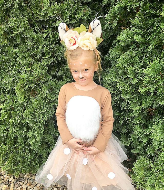 Oh Deer 🦌 my little beauty is ready for Halloween @potterybarnkids #potterybarnkids #potterybarnkidscostume #halloweencostume #toddlerfashion @potterybarnkids_columbus @potterybarn_easton @potterybarn