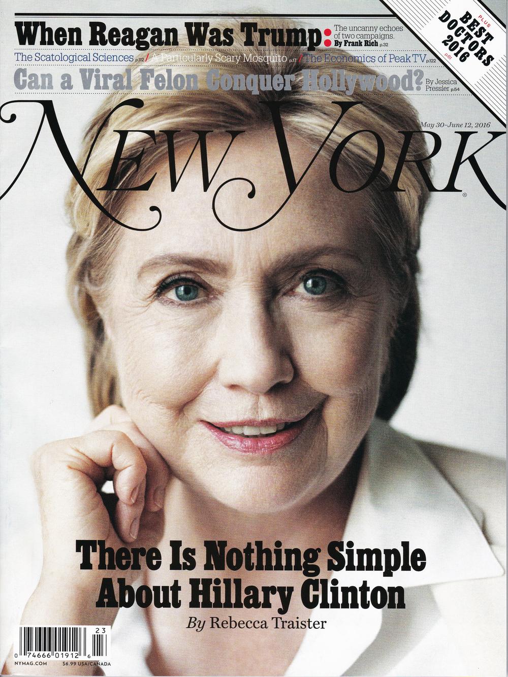 NY Magazine May 30_June 12 2016_Cover.2.jpg
