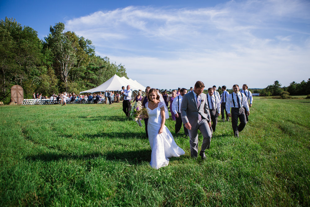 Backyard Wedding - Carmel, Maine