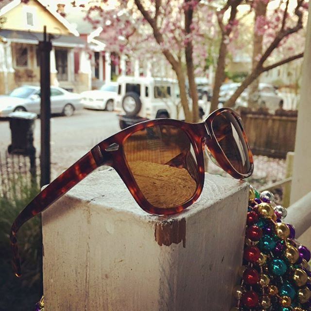 Only 383 days until Mardi Gras 2k19!! Can't get here soon enough!! #nola #sunglasses
