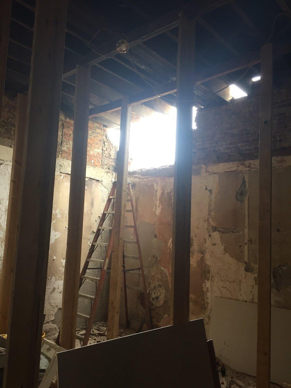 Demolition brings new light!