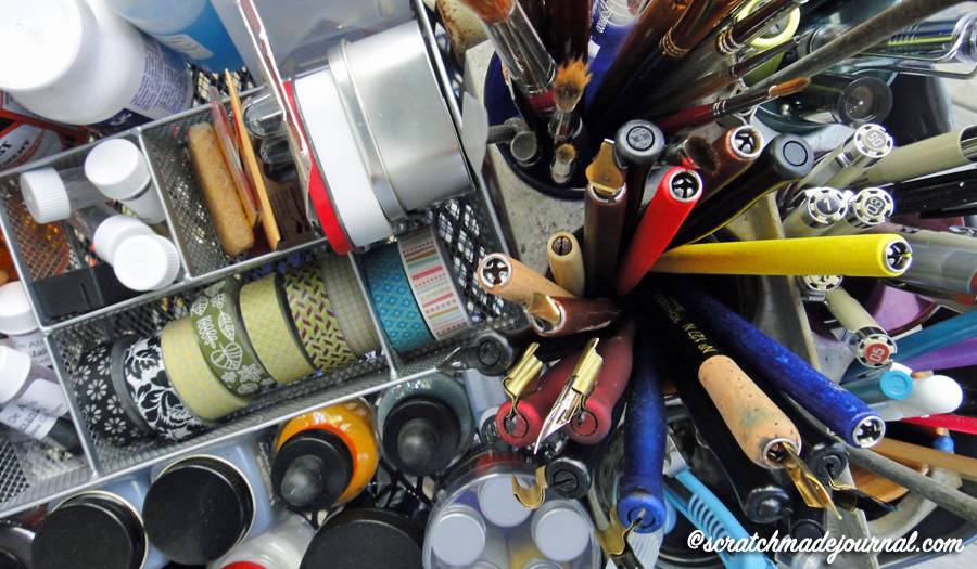 Art supply collection & tips for investing in quality tools - ScratchmadeJournal.com