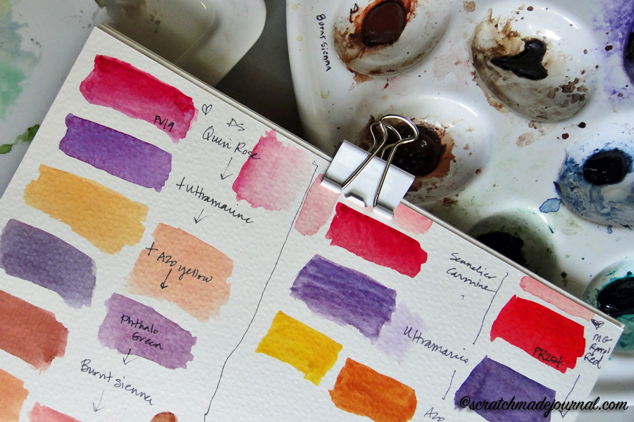 5 Tips for Setting Up a Watercolor Palette - scratchmadejournal.com