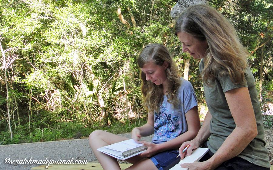 Nature journaling with kids inspires wonder - scratchmadejournal.com