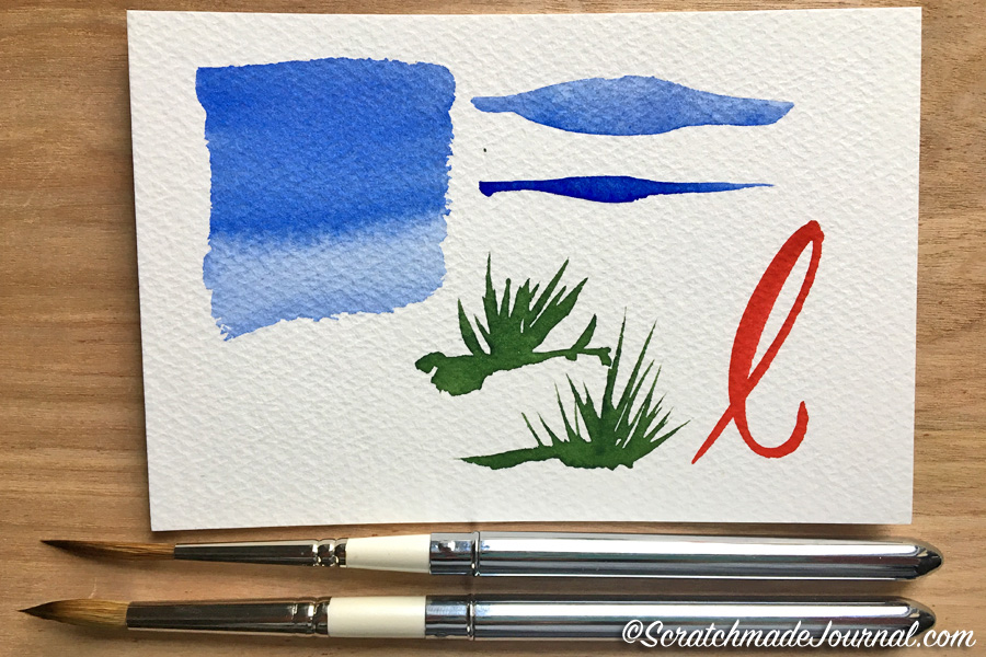 Review of Rosemary Pure Kolinsky Sable Pocket Brush - ScratchmadeJournal.com