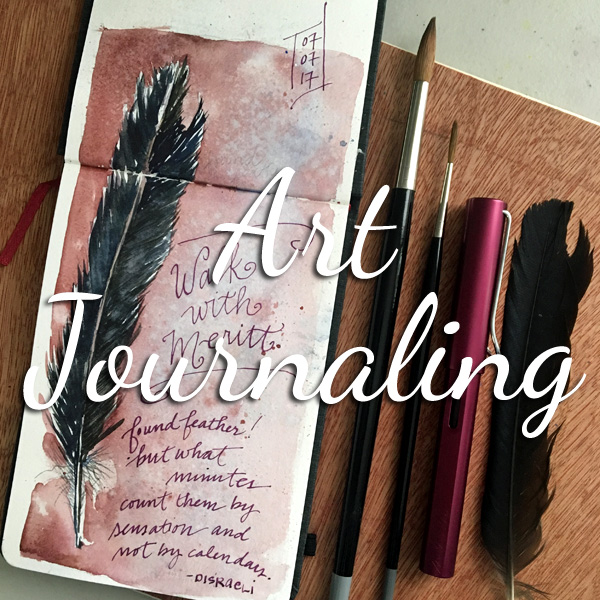Learn all about art journaling & more at ScratchmadeJournal.com