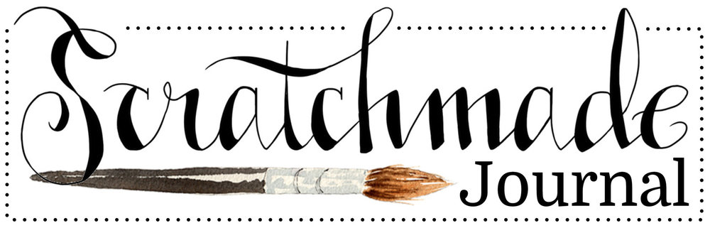 3 Easy Hand Lettering Fonts PLUS A Printable Scratchmade Journal