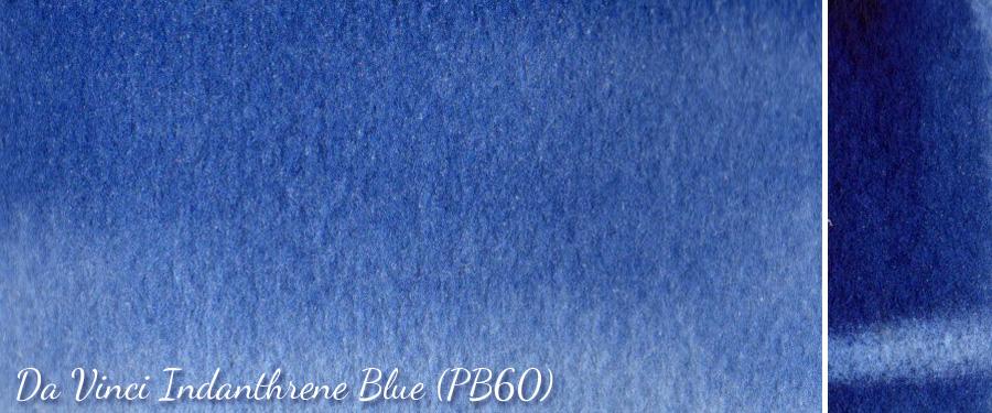 Da Vinci Indanthrene Blue PB60 - ScratchmadeJournal.com