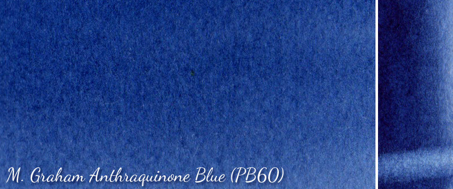 M Graham Anthraquinone Blue PB60 - ScratchmadeJournal.com