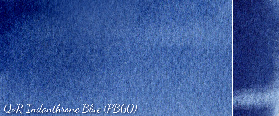 QoR Indanthrone Blue PB60 - ScratchmadeJournal.com