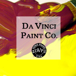 Shop Da Vinci Paints Button - ScratchmadeJournal.com