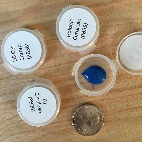 Cerulean Blue Sample Pack - ScratchmadeJournal.com