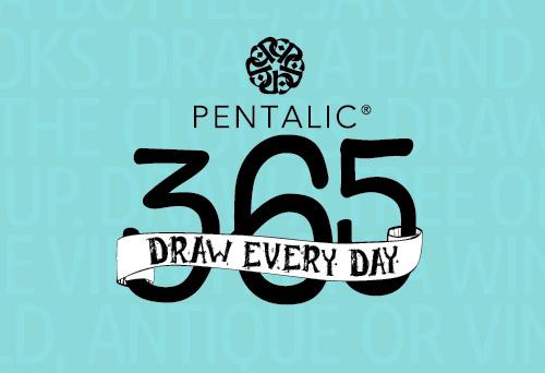 Pentalic365 Challenge for 2018 - ScratchmadeJournal.com