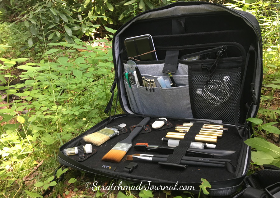 Etchr Art Satchel Review - ScratchmadeJournal.com