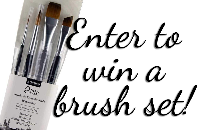Princeton Elite review & brush set giveaway - ScratchmadeJournal.com