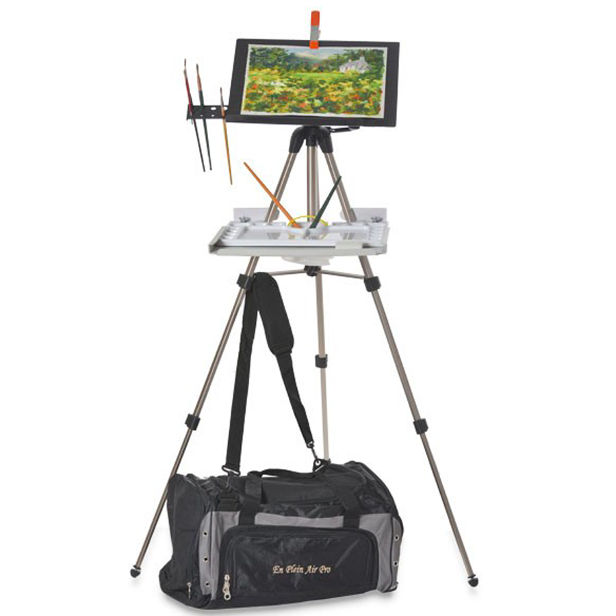 The En Plein Air Pro Watercolor Easel is a top 10 watercolor gift for artists - ScratchmadeJournal.com