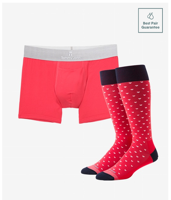 so this really isnt all that scandalous but i wouldnt buy boxers and socks for someone your casually dating they might head for the hills too intimate