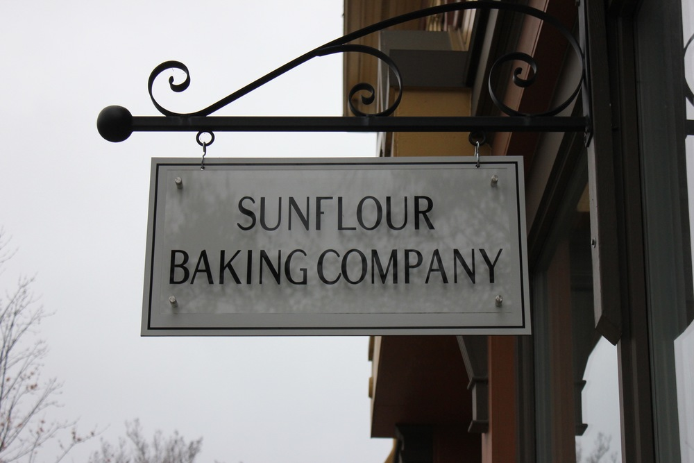 Sunflour Baking Co Sign